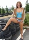 Dominika és a téli gumik :D - 9. kép