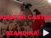 Gang-bang casting Szandikával