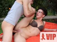Vad szex a kertben