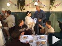 Orgia az étteremben